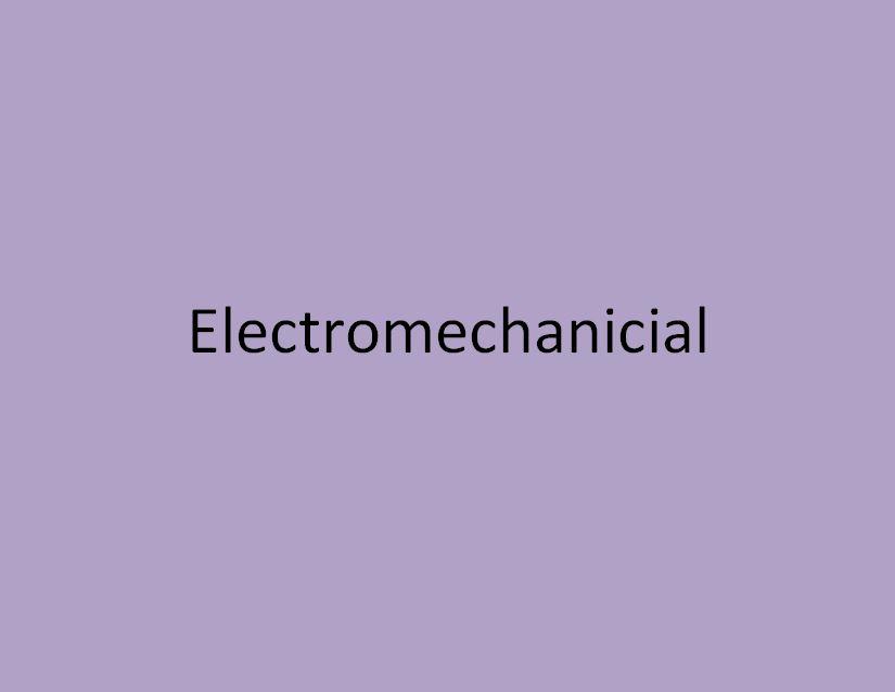 electromecanicien