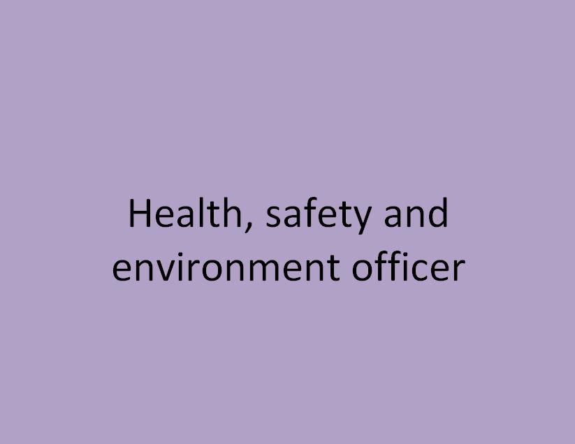 chargé en hygiène sécurité environnement