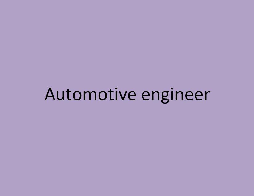 ingénieur en construction automobile