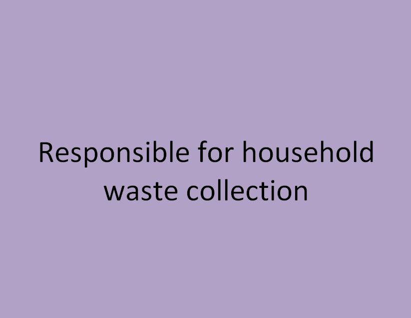 responsable de la collecte des déchets ménagers