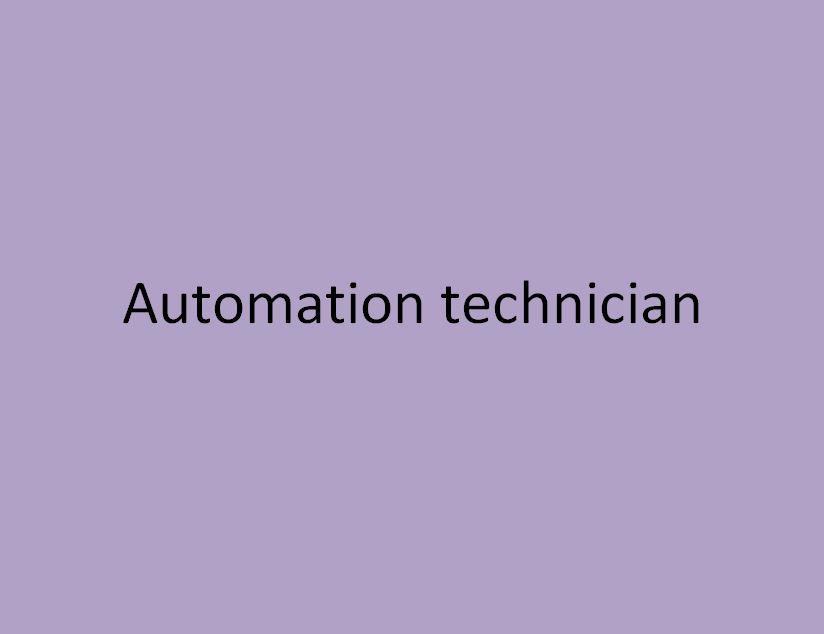 technicien en automatismes